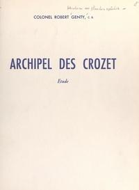 Robert Genty et Donatien Cot - Archipel des Crozet - Étude.