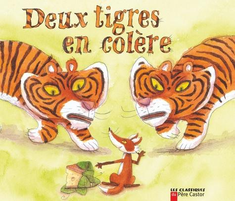 Robert Giraud - Deux tigres en colère.