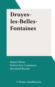 Robert-Guy Caummaut et Robert Némo - Druyes-les-Belles-Fontaines.