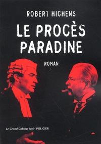 Robert Hichens - Le procès Pradine.