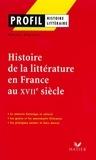 Robert Horville - Profil - Histoire de la littérature en France au XVIIe siècle.