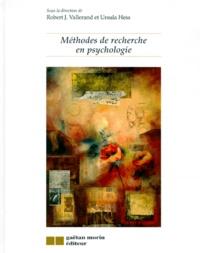 Robert J. Vallerand - Méthodes de recherche en psychologie.