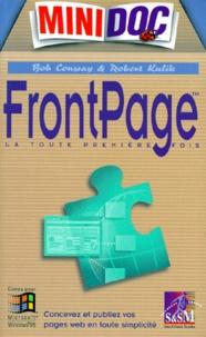 FRONTPAGE 97. Avec une disquette - Robert Kulik |