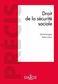 Robert Lafore et Michel Borgetto - Droit de la sécurité sociale.