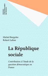 Robert Lafore et Michel Borgetto - .