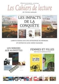 Robert Laplante et Michel Rioux - Les Cahiers de lecture de L'Action nationale. Vol. 8 No. 2, Printemps 2014 - Les impacts de la Conquête.