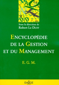 Robert Le Duff - Encyclopédie de la gestion et du management - EGM.
