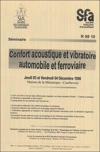 Confort acoustique et vibratoire automobile et ferroviaire - Séminaire des 3 et 4 décembre 1998.pdf