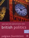 Robert Leach et Bill Coxall - British Politics.