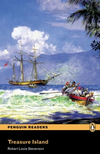 Robert Louis Stevenson - Treasure island ( Penguin reader level 2 ).