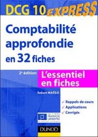 Robert Maéso - Comptabilité approfondie en 32 fiches - DCG 10.