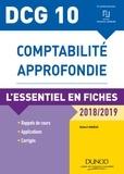 Robert Maéso - DCG 10 - Comptabilité approfondie - 8e éd. - L'essentiel en fiches - 2018/2019.