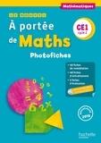 Robert Meunier et Laurence Meunier - Mathématiques CE1 Cycle 2 A portée de maths - Photofiches. 1 Cédérom