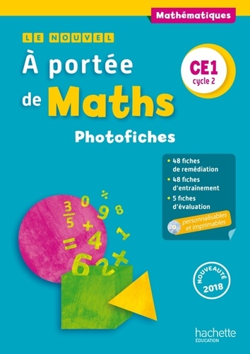 Mathematiques Ce1 Cycle 2 A Portee De Maths Photofiches Grand Format