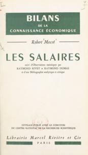 Robert Mossé et Raymond Dumas - Les salaires.