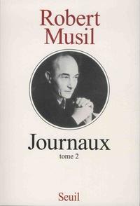 Robert Musil - Journaux - Tome 2.