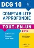 Robert Obert et Marie-Pierre Mairesse - Comptabilité approfondie DCG 10 - Tout-en-un.