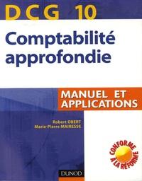 Histoiresdenlire.be Comptabilité approfondie DCG10 - Manuel et applications Image