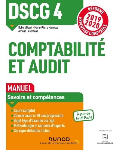 Calendrier Dscg 2019.Comptabilite Et Audit Dscg 4 Manuel Grand Format
