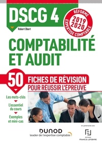 Robert Obert - Comptabilité et audit DSCG 4 - Fiches de révision.