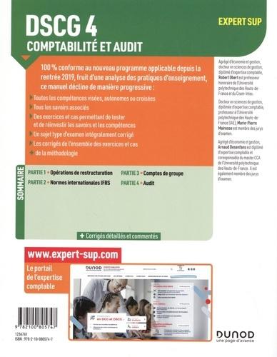 Comptabilité et audit DSCG 4. Manuel  Edition 2020-2021