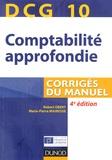Robert Obert et Marie-Pierre Mairesse - DCG 10 Comptabilité approfondie - Corrigés du manuel.