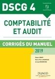 Robert Obert et Marie-Pierre Mairesse - DSCG 4 - Comptabilité et audit - 2019 - Corrigés.