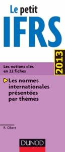 Robert Obert - Le petit IFRS 2013.