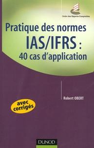 Alixetmika.fr Pratique des normes IAS/IFRS : 40 cas d'application Image