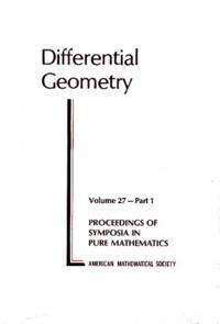 Robert Osserman et S. S. Chern - Differential Geometry.