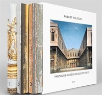 Coffret Parcours muséologique revisité- Tome 1, Transitional States ; Tome 2, Attempting to achieve an approximate order ; Tome 3, Upon closer scrutiny - Robert Polidori |