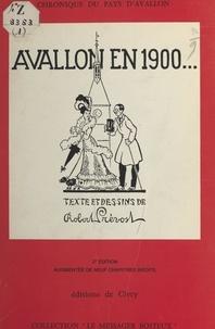 Robert Prevost - Avallon en 1900.