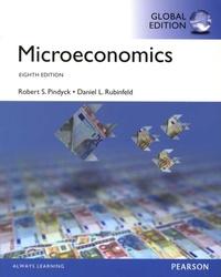 Robert S. Pindyck et Daniel L. Rubinfeld - Microeconomics.