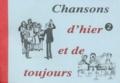 Robert Sableyrolles - Chansons d'hier et de toujours - Tome 2.