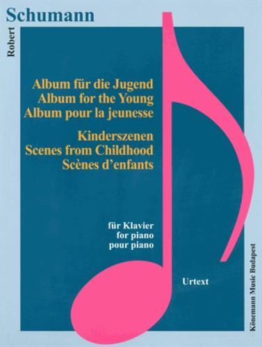 Robert Schumann - Schumann - Album pour la jeunesse - Scènes d'enfants - Piano - Partition.