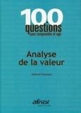Robert Tassinari - Analyse de la valeur.