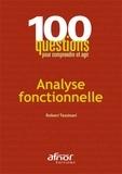 Robert Tassinari - Analyse fonctionnelle.