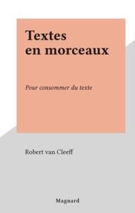 Robert Van Cleeff - .