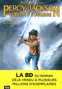 Robert Venditti et Attila Futaki - Percy Jackson Tome 1 : Le voleur de foudre.