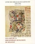 Robert Walter - Livre des miracles de sainte Foy - Traduction des textes 1094-1994.