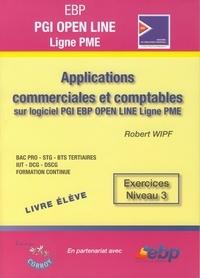 Applications commerciales et comptables sur logiciel EBP PGI Open Line Ligne PME - Exercices Niveau 3.pdf