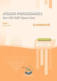 Deedr.fr Ateliers professionnels sur PGI EBP Open Line - Corrigé Tome 1 Image
