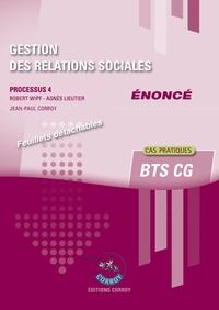 Ucareoutplacement.be Gestion des relations sociales Processus 4 du BTS CG - Enoncé Image