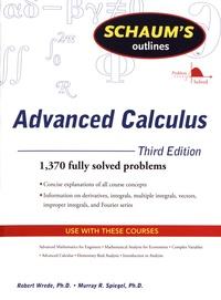 Robert Wrede et Murray R. Spiegel - Advanced Calculus.