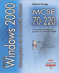 Conception de la sécurité pour un réseau Microsoft Windows 2000 - Guide de formation MCSE, Examen 70-220.pdf