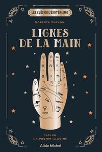 Roberta Vernon - Lignes de la main - Inclus : un poster illustré.