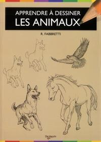 Roberto Fabbretti - Apprendre à dessiner les animaux - Anatomie, silhouettes et attitudes.