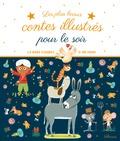 Roberto Piumini et Stefano Bordiglioni - Les plus beaux contes illustrés pour le soir.