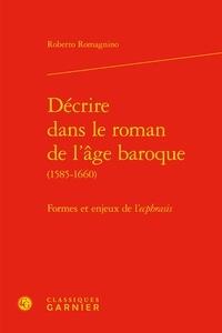 Histoiresdenlire.be Décrire dans le roman de l'âge baroque (1585-1660) - Formes et enjeux de l'ecphrasis Image