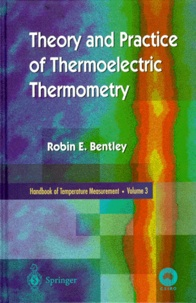 Deedr.fr HANDBOOK OF TEMPERATURE MEASUREMENT. - Volume 3, Theory and Practice of Thermoelectric Thermometry Image